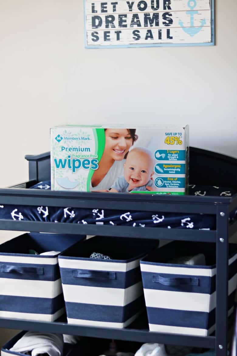 Member's Mark Unscented Baby Wipes