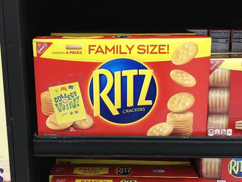 Family Size RITZ at Walmart