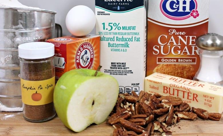 Soft Apple Cookie Ingredients