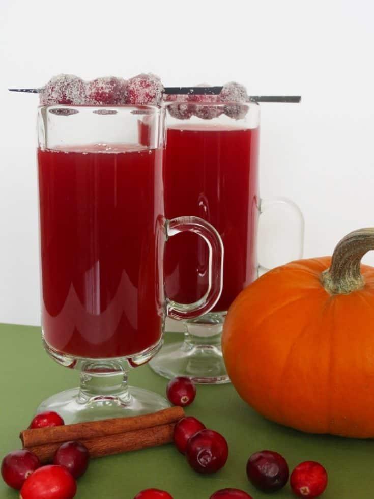 Cranberry Apple Sweet Tea Cider