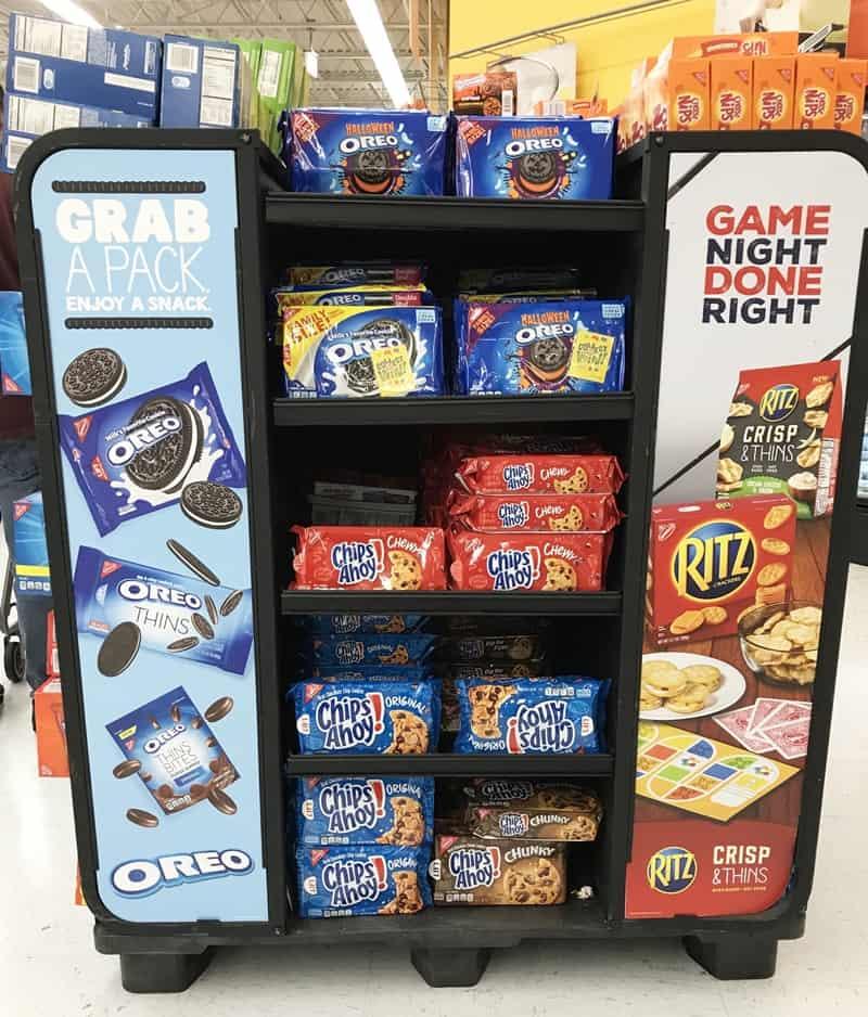 Walmart Snack Display