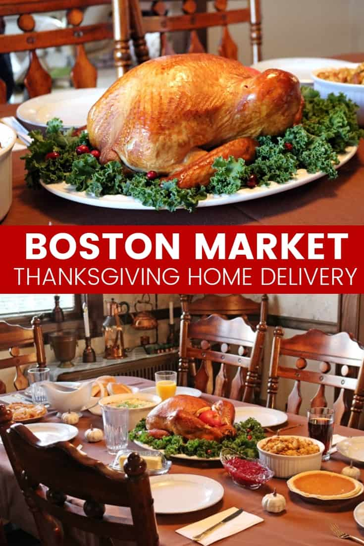 Boston Market Thanksgiving meal options can deliver a fully-prepared, pre-cooked, Thanksgiving Dinner right to your doorstep for a stress-free Thanksgiving.