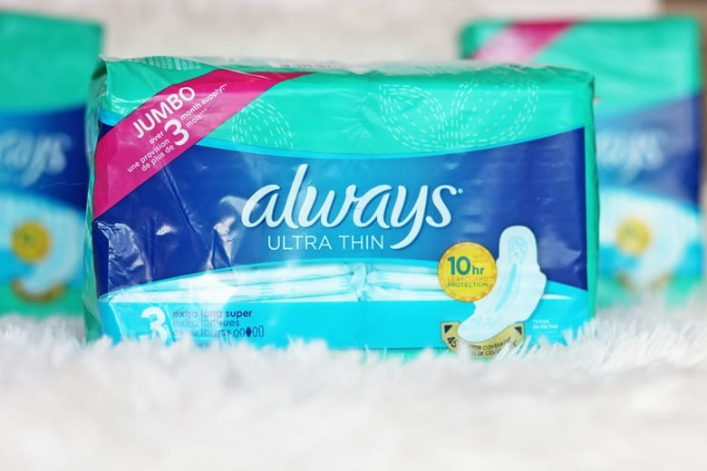 Always Ultra Thin Pads Jumbo pack