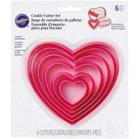 Nesting Heart Cutter Set