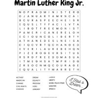 graphic relating to Martin Luther King Word Search Printable known as 20+ No cost Printable Term Lookups