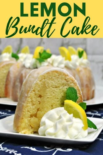 Complete with a zesty lemon glaze, this homemade moist lemon bundt cake recipe is the perfect combination of sweet and tangy.