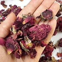 Organic Aromatic Dried Rose Buds and Petals