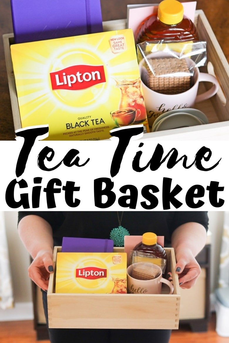 This easy DIY tea gift basket makes a terrific gift for the tea lover in your life for birthdays, Mother's Day, other holidays, or just because.