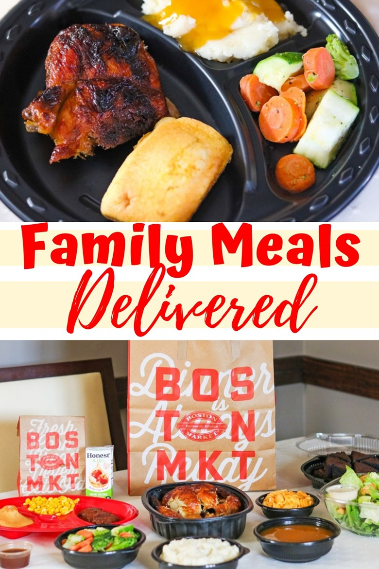 Have a warm. delicious home-style meal delivered right to your door with Boston Market Home Delivery