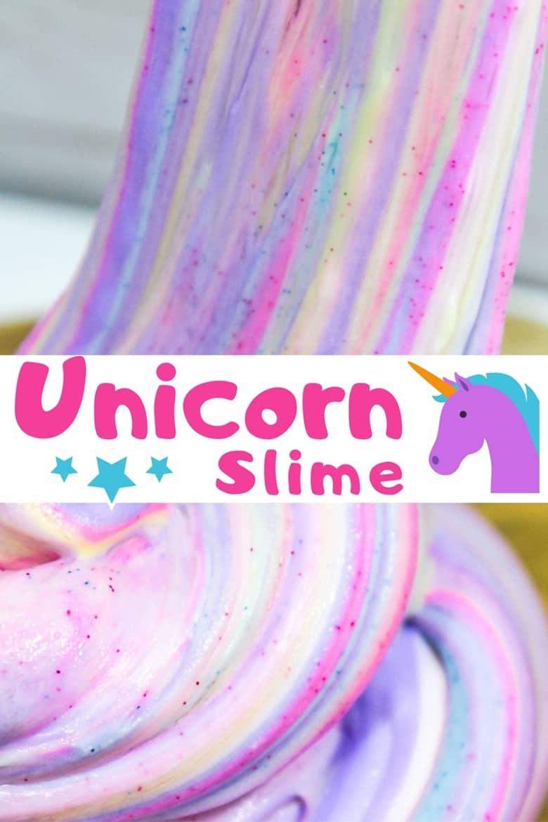 Have a little unicorn lover at home? Learn how to make this beautiful borax-free, glittery and fluffy unicorn slime at home.