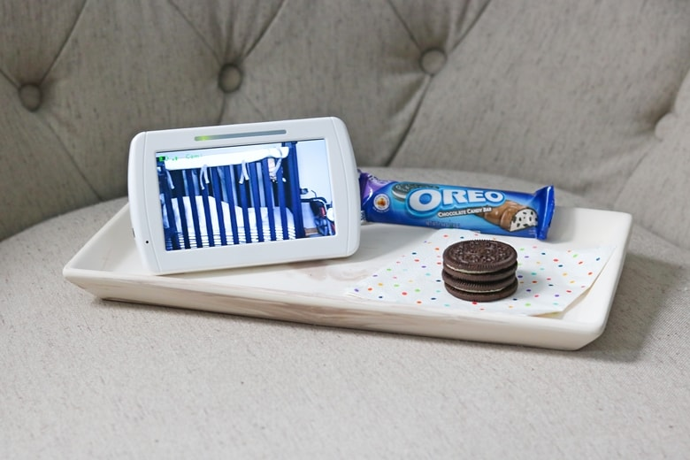 OREO cookies and Baby Monitor