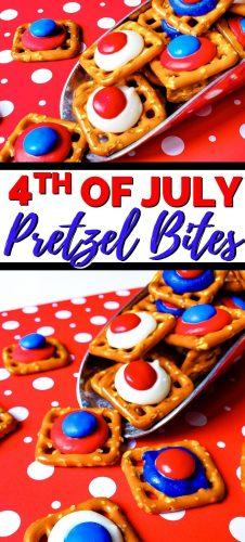 4th of July Pretzel Bites Pin