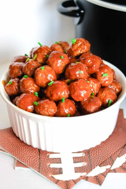 Crockpot Coca-Cola Meatballs