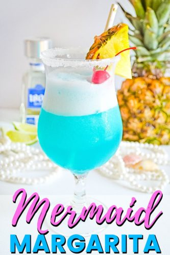 Mermaid Margarita Pin