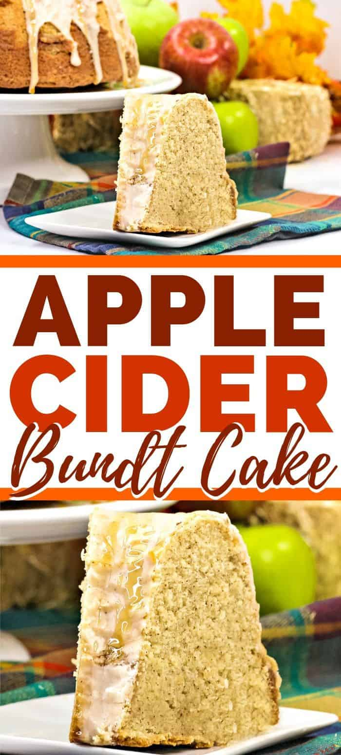Apple Cider Bundt Cake Recipe