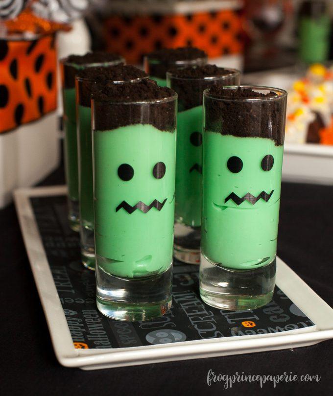 Frankenstein Halloween Dessert