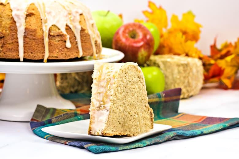 Glazed Apple Cider Bundt Cake