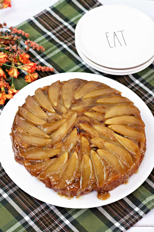Apple Cinnamon Roll Upside Down Cake