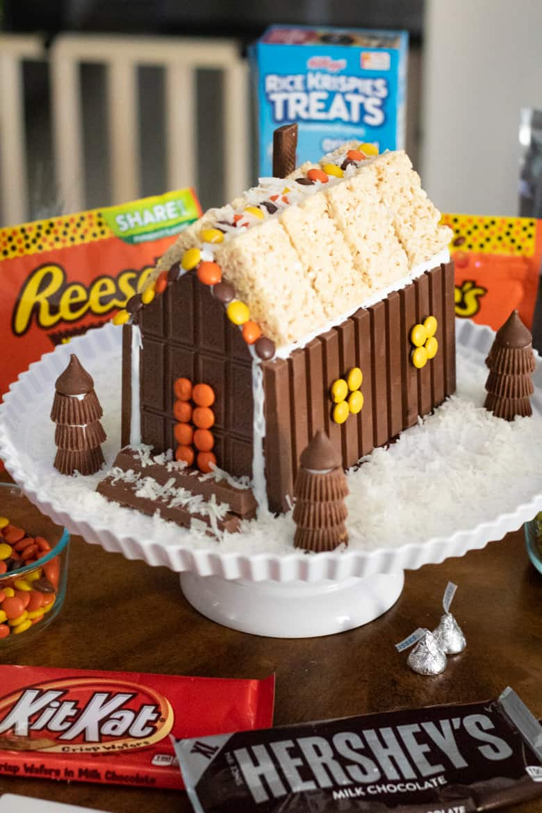 Chocolate Candy Cabin