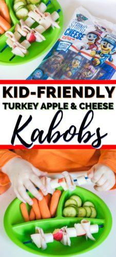 Kid-friendly Turkey Apple Cheese Kabobs