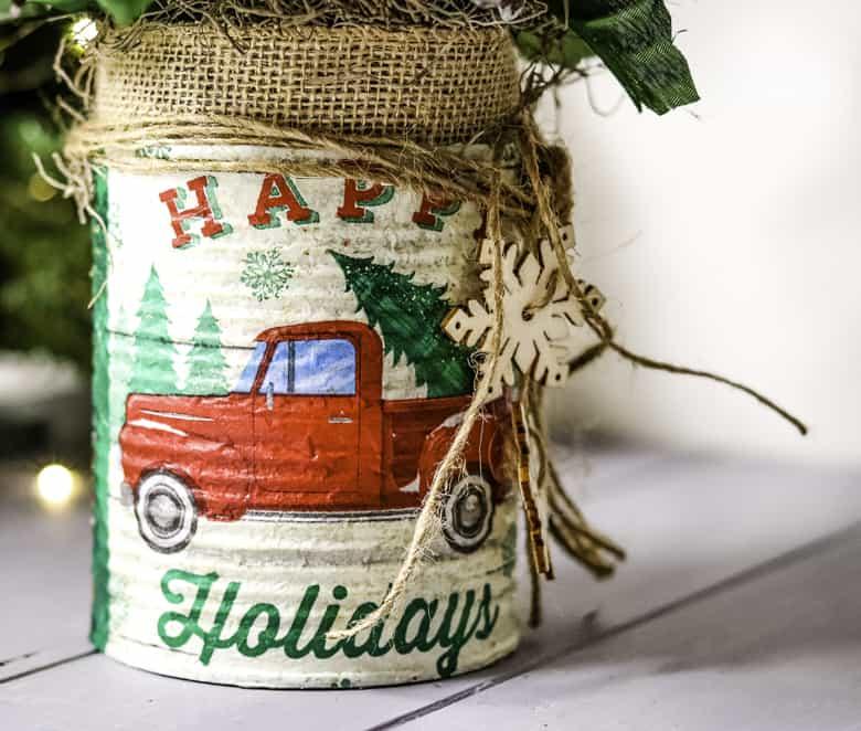 DIY Farmhouse Christmas décor