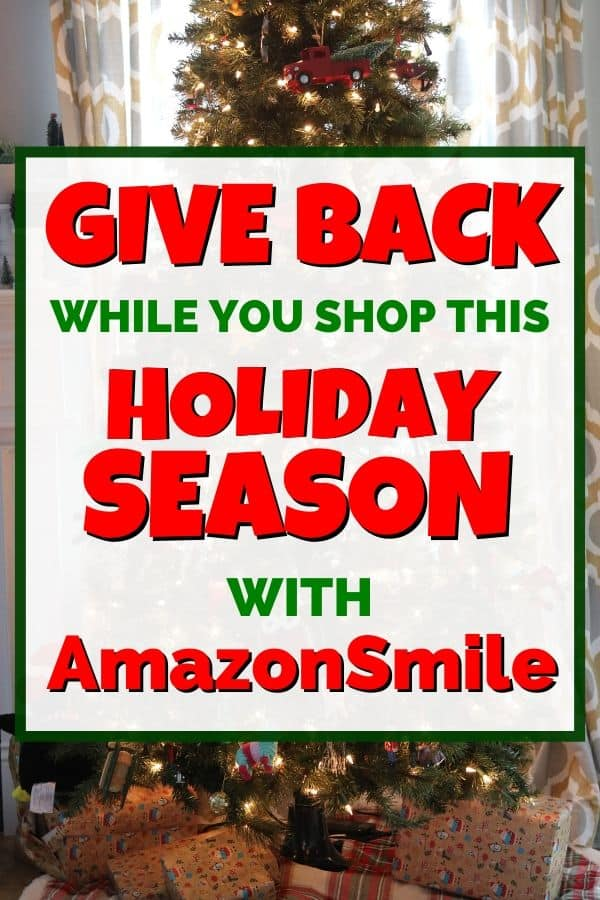 Give Back While You Shop This Holiday Season with AmazonSmile