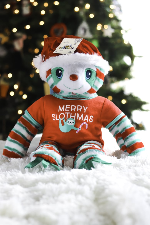 Merry Slothmas Giftset from Build-A-Bear