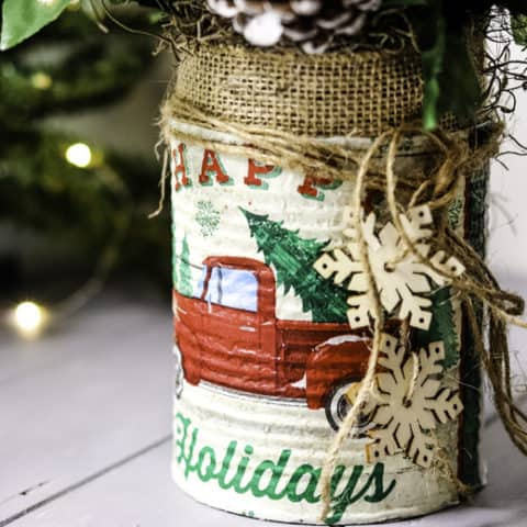 Rustic Farmhouse Christmas Craft
