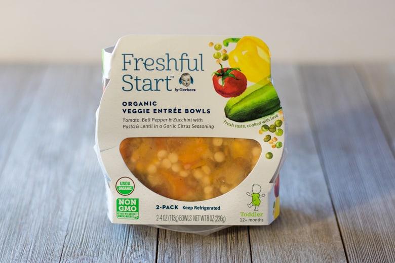New Freshful StartTM Gerber® Veggie Entrée Bowls