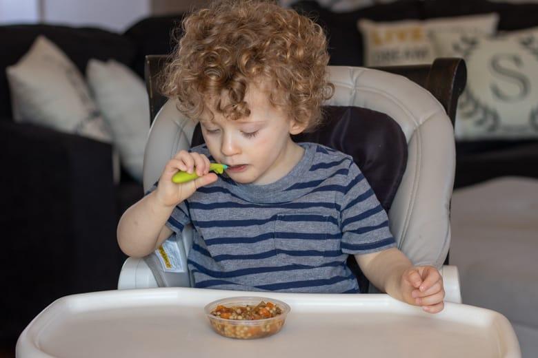 Toddler Eating Freshful Start