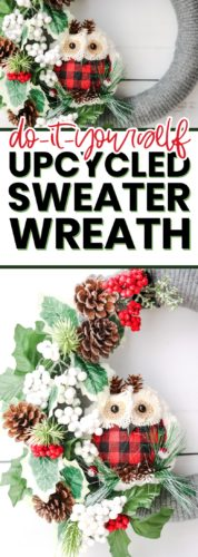 christmas wreath diy pin