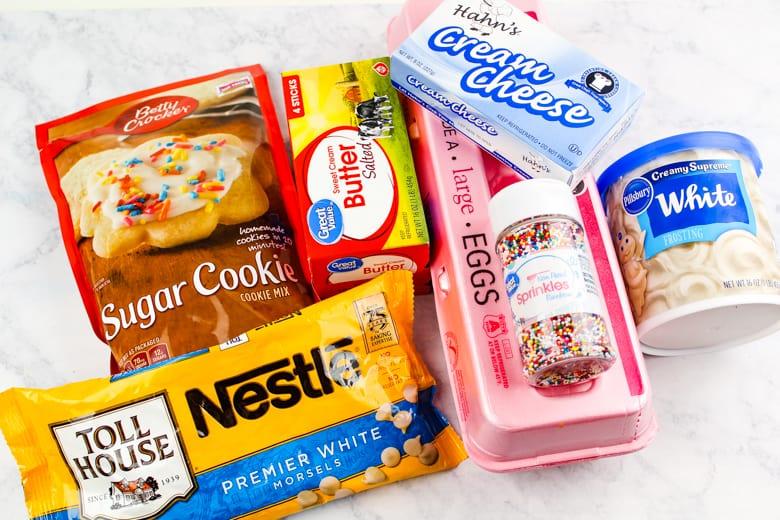 sugar cookie truffle ingredients