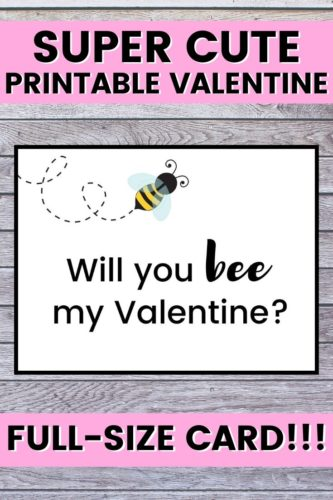 Super Cute Printable Valentine