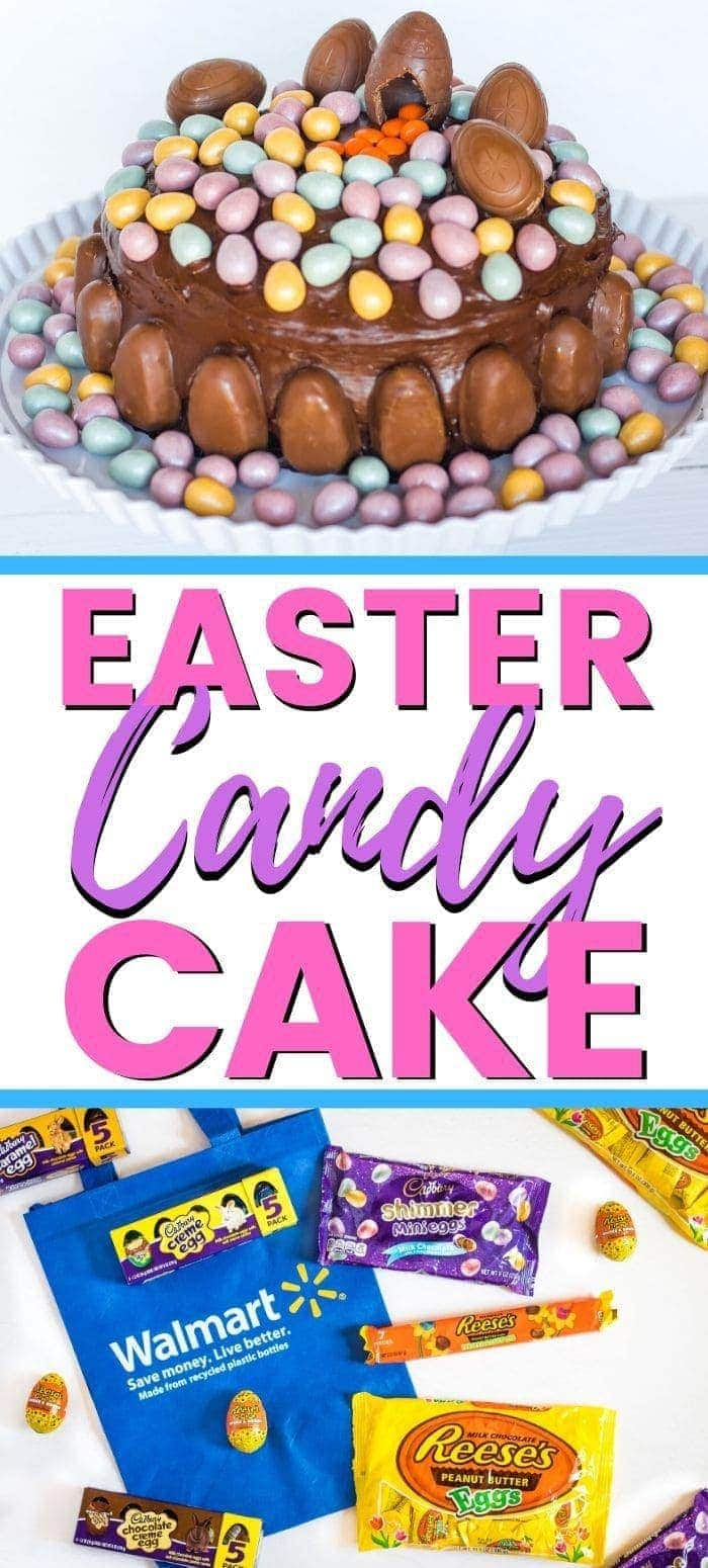 Easter Candy Cake