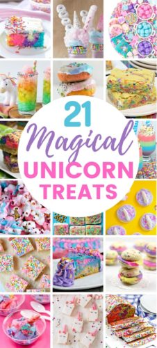 21 Magical Unicorn Treats
