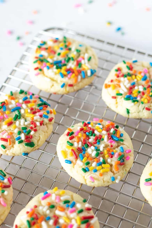 3 Ingredient Cake Mix Cookie Recipe