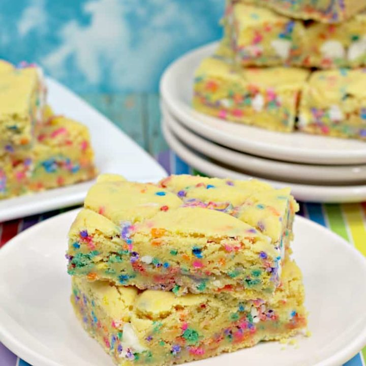 Funfetti Cake Batter Blondies