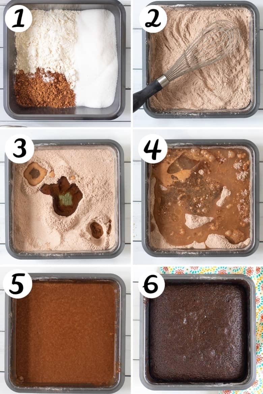 How to Make Crazy Cake