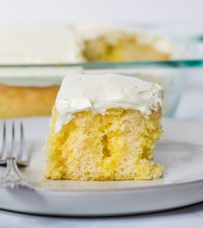The Best Lemon Poke Cake Recipe