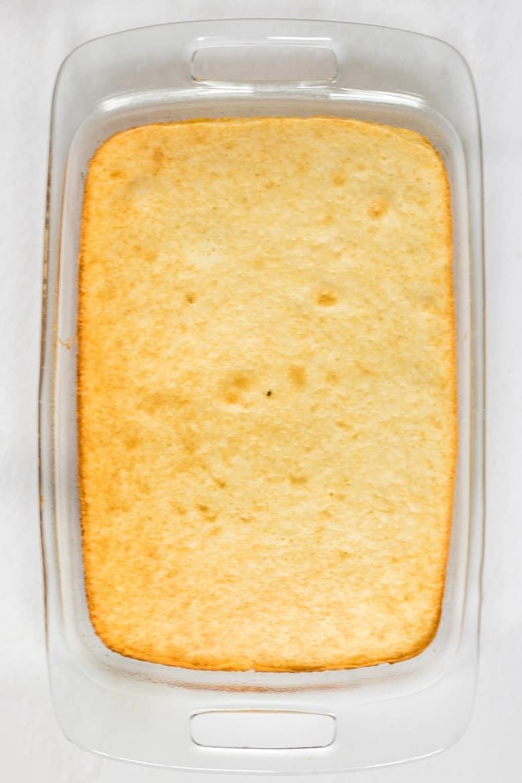 9 x 13 White Cake