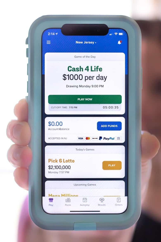 Jackpocket Lottery App NJ
