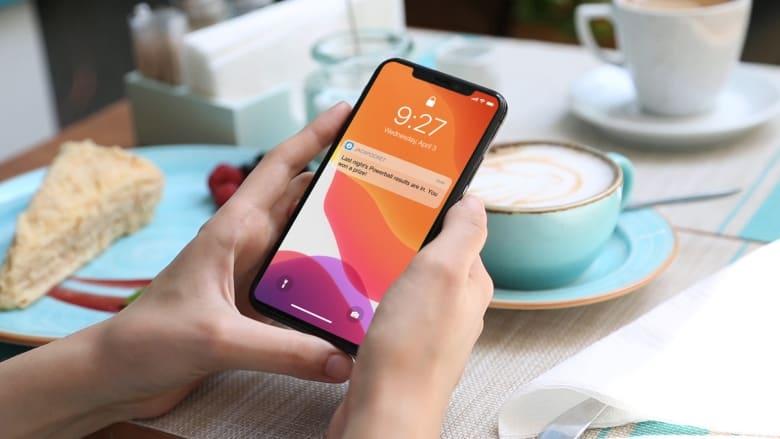 win notification on iphone