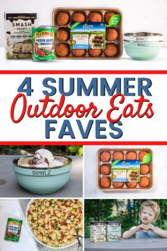 4 Summer Outdoor Eats Faves