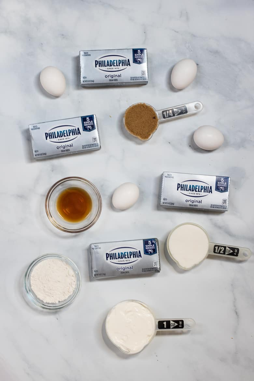 Pecan Pie Cheesecake Ingredients