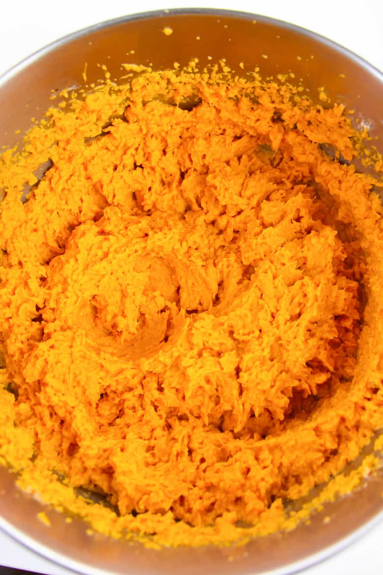 Mashed Sweet Potatoes for Casserole