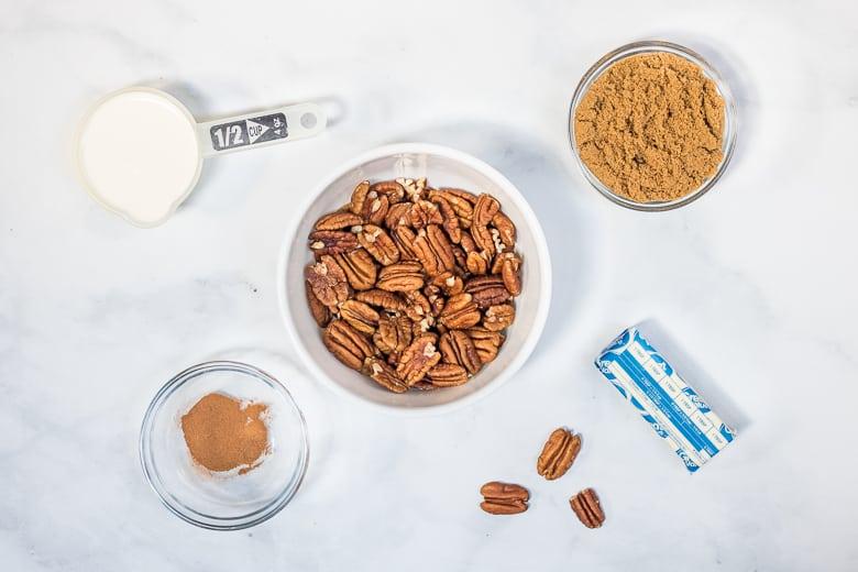 Pecan Topping Ingredients