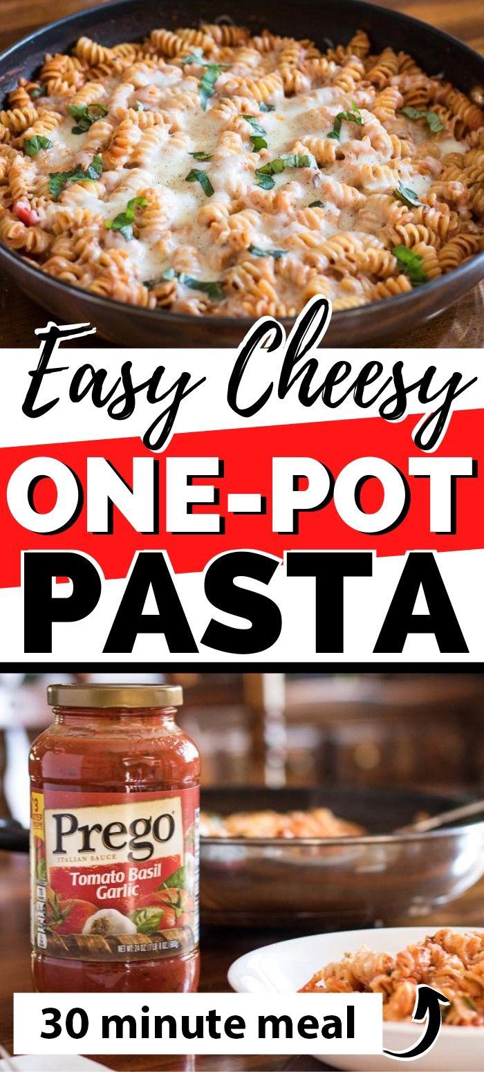 Easy Cheesy One-Pot Pasta