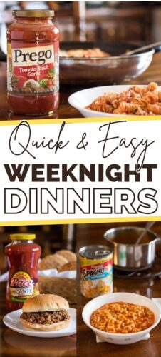 Quick and Easy Weeknight Dinners