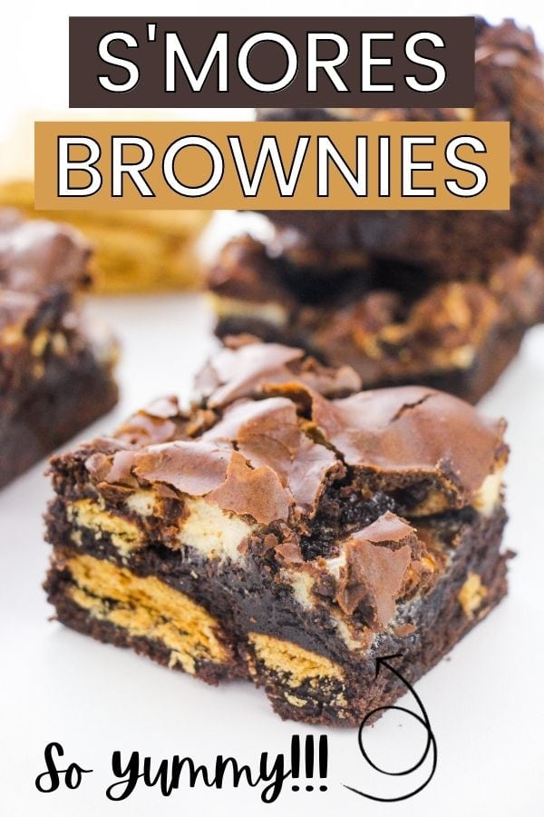 S'mores Brownies - so yummy