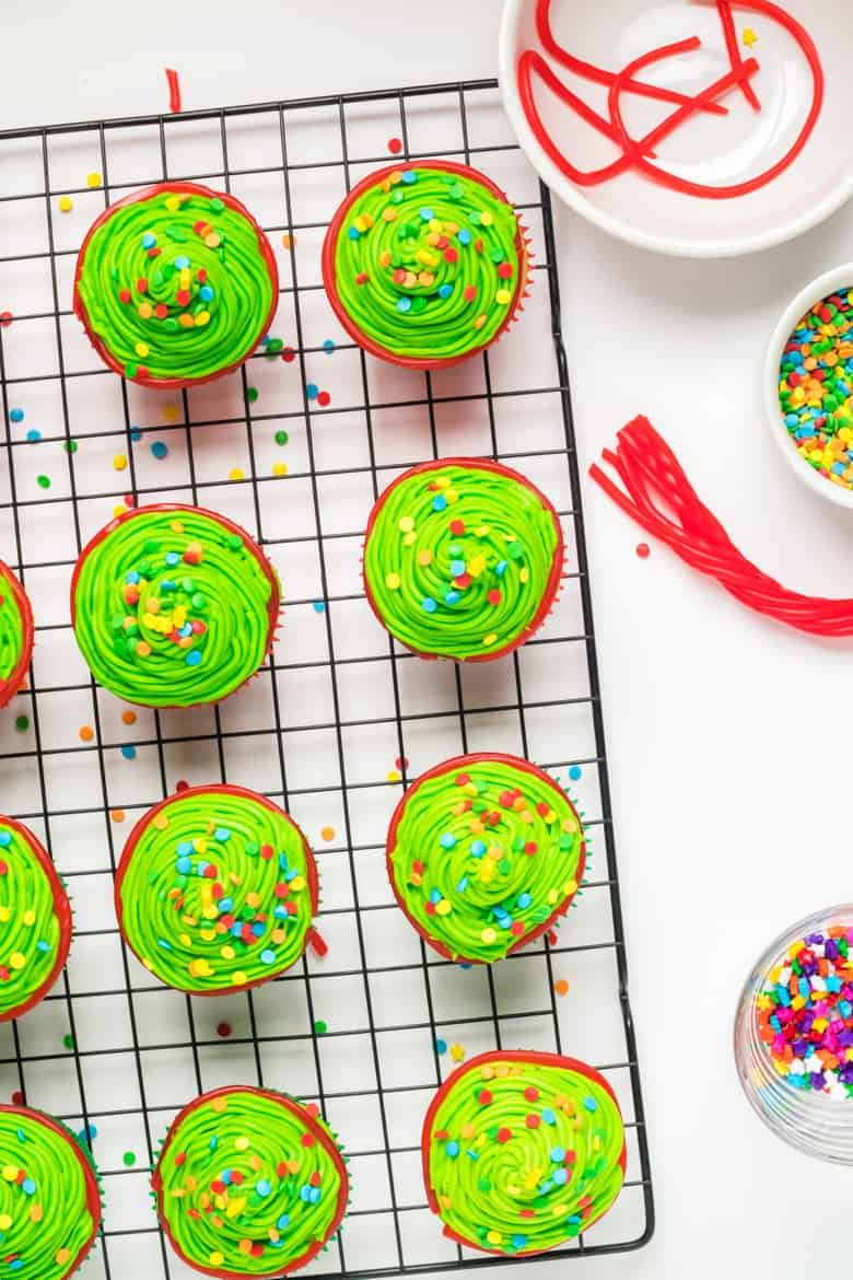 Christmas Tree Cupcake Decorating Ideas